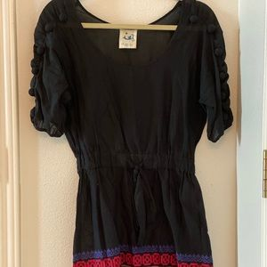 Anthropologie dress/ coverup